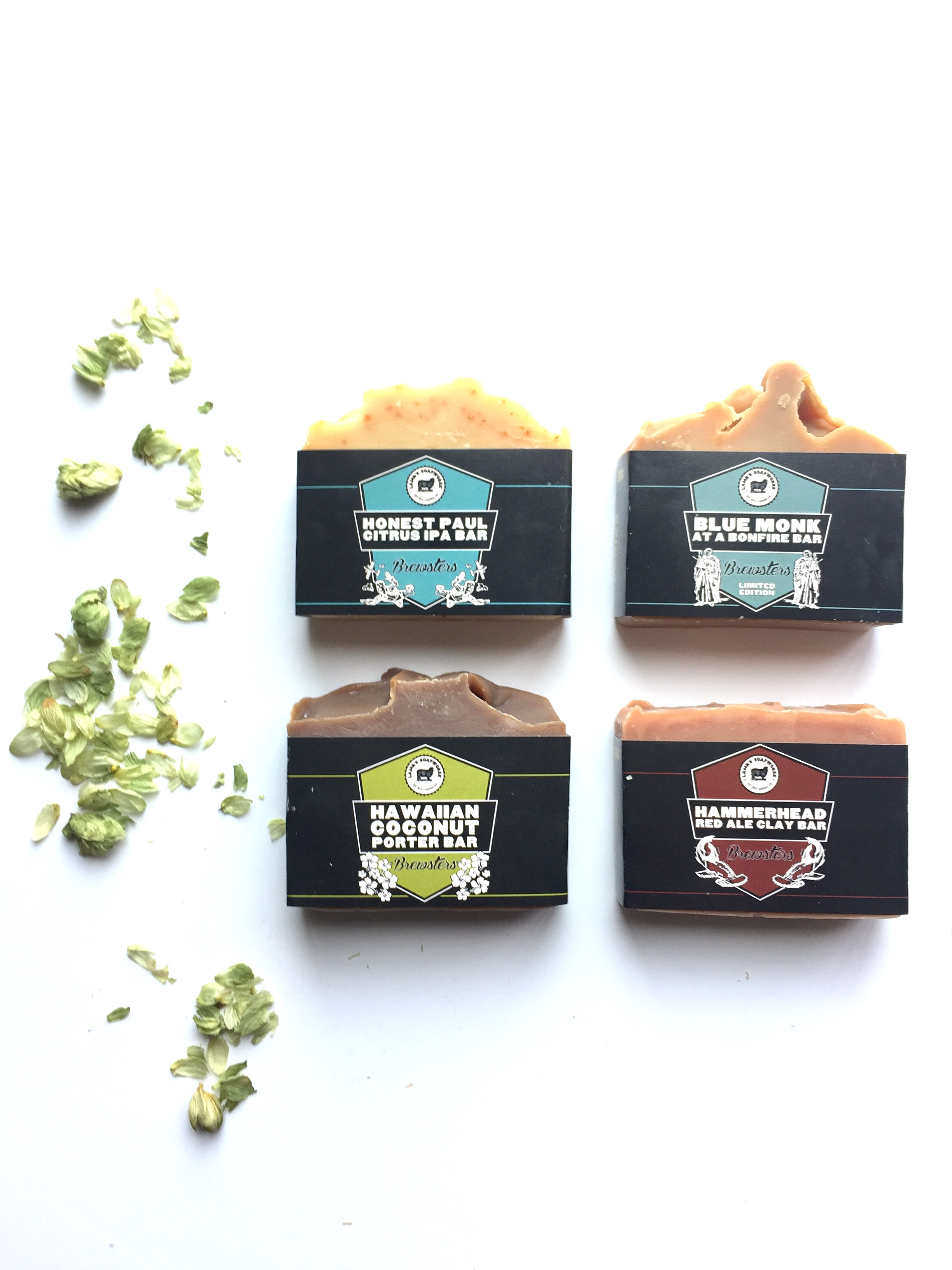 Brewer's Series Soap Bars