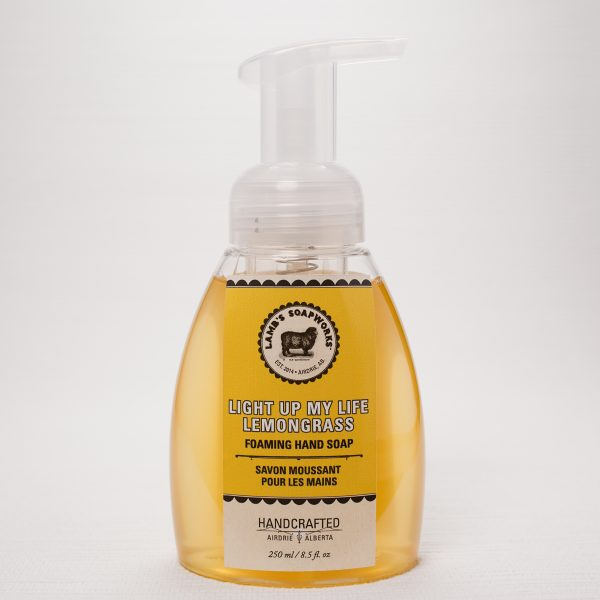 Light Up My Life Lemongrass Foaming Hand Soap